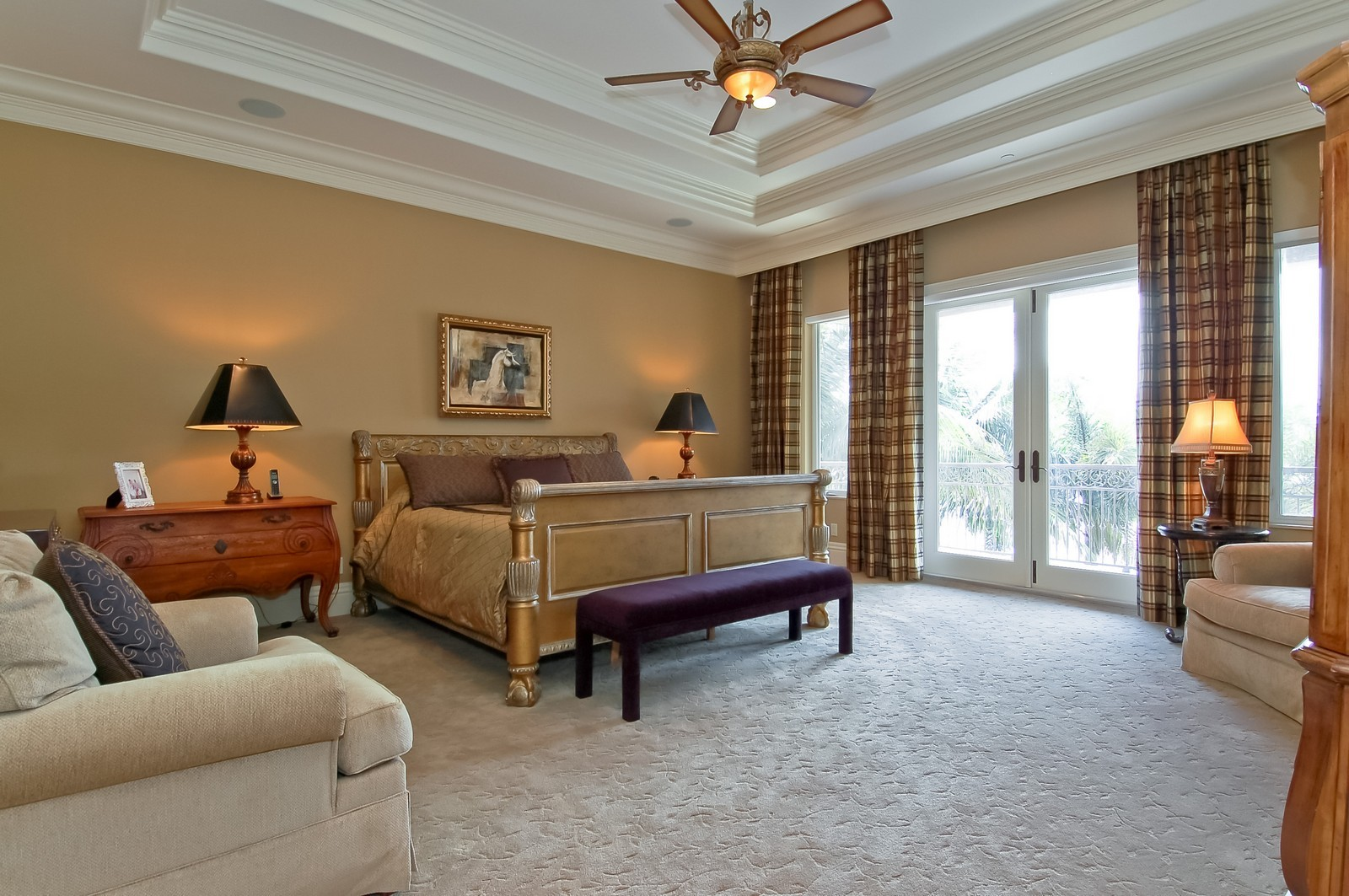 Real Estate Photography - 4022 S Ocean Blvd, Highland Beach, FL, 33487 - Master Bedroom