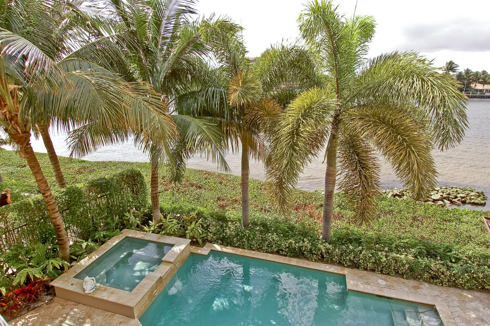 Real Estate Photography - 4022 S Ocean Blvd, Highland Beach, FL, 33487 - Pool