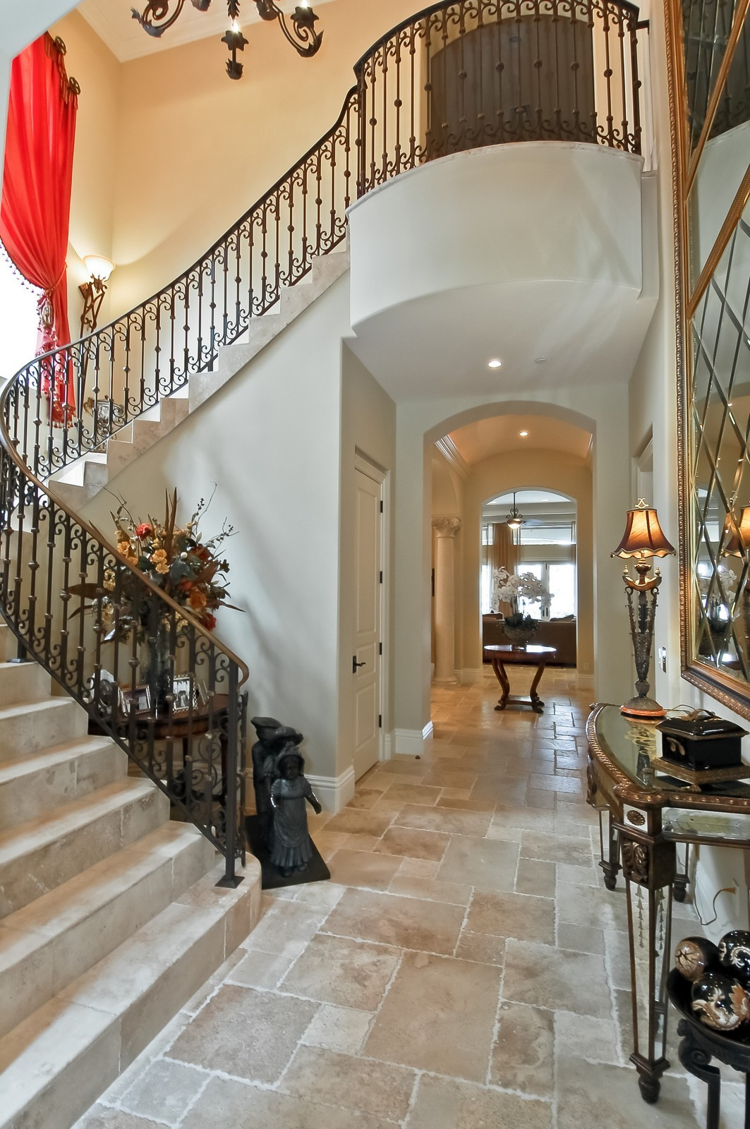 Real Estate Photography - 4022 S Ocean Blvd, Highland Beach, FL, 33487 - Staircase