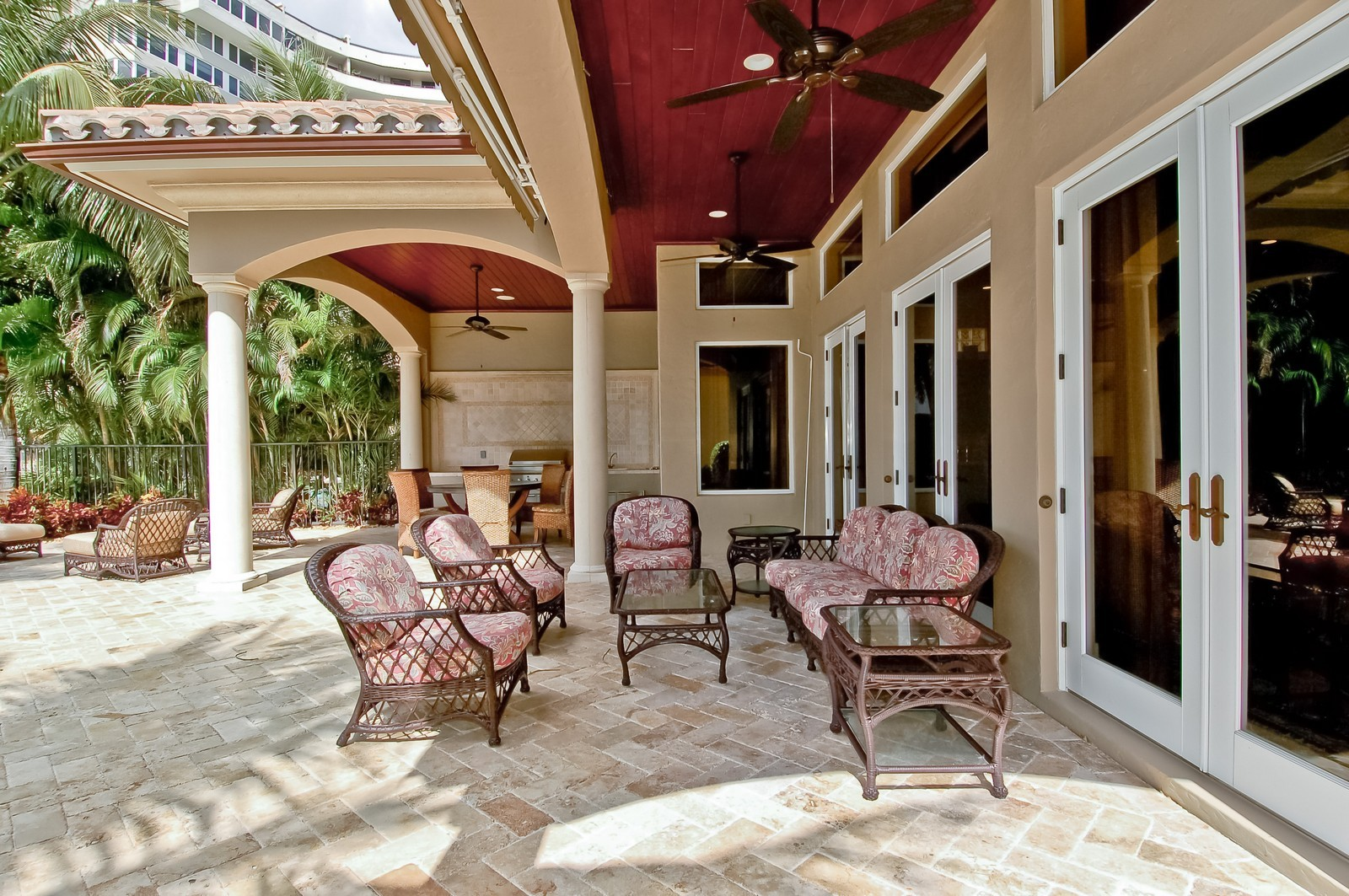 Real Estate Photography - 4022 S Ocean Blvd, Highland Beach, FL, 33487 - Patio
