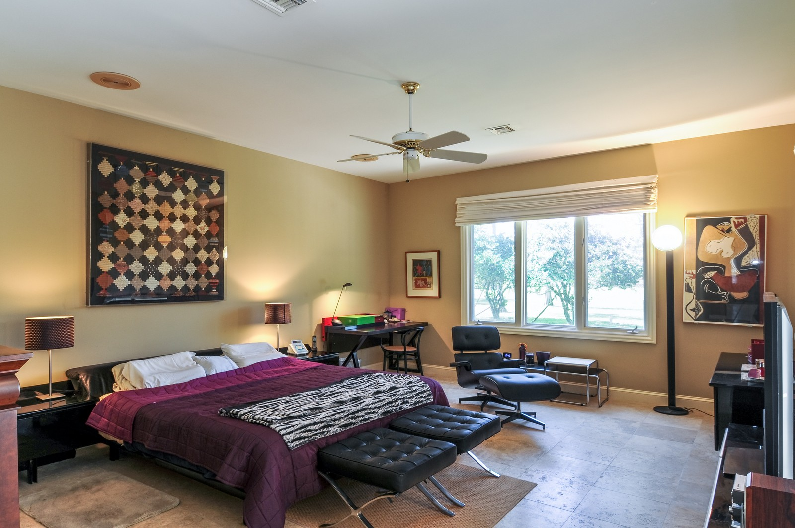 Real Estate Photography - 13501 Pond Apple Drive E, Naples, FL, 34119 - Master Bedroom
