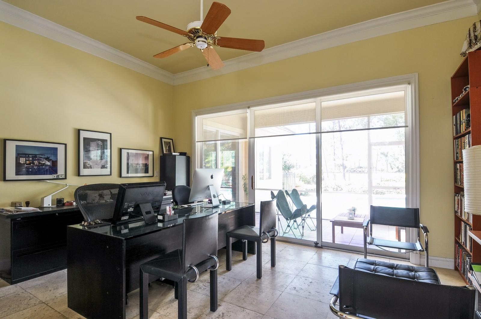 Real Estate Photography - 13501 Pond Apple Drive E, Naples, FL, 34119 - Office