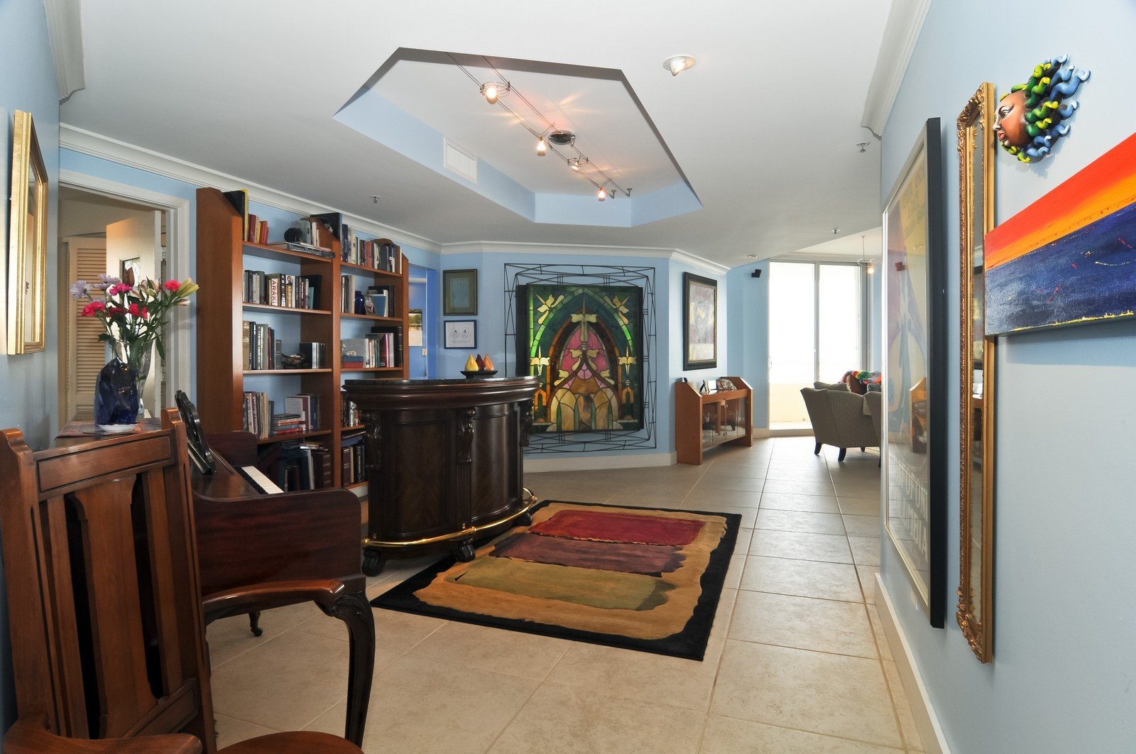 Real Estate Photography - 808 Brickell Key Dr, Miami, FL, 33131 - Dining Room