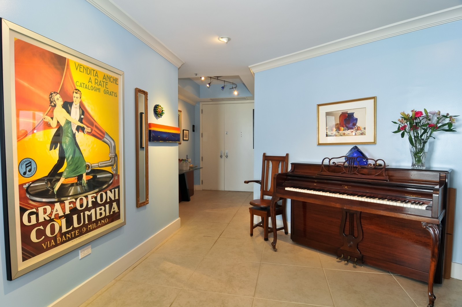 Real Estate Photography - 808 Brickell Key Dr, Miami, FL, 33131 - Foyer