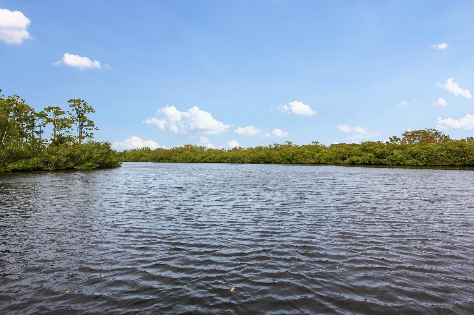 Real Estate Photography - 18300 SE Loxahatchee River Rd, Jupiter, FL, 33458 - Intracoastal View