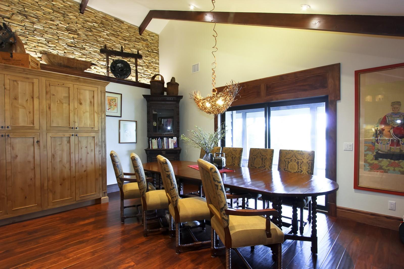 Real Estate Photography - 18300 SE Loxahatchee River Rd, Jupiter, FL, 33458 - Dining Room