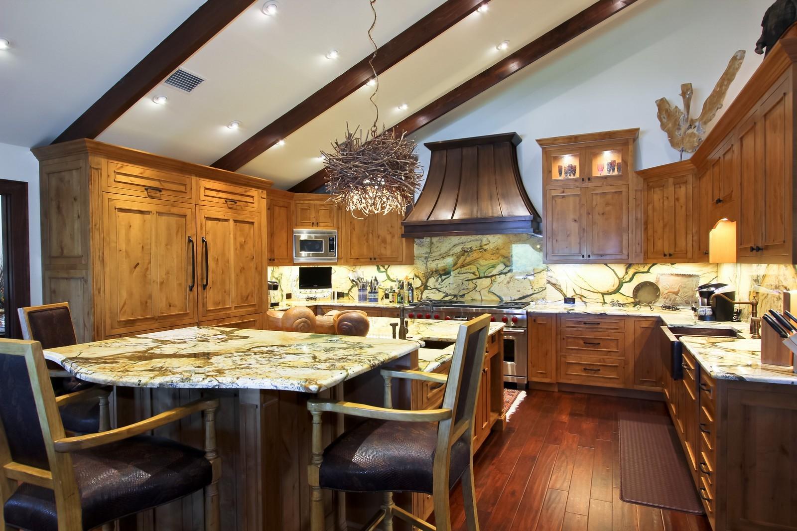 Real Estate Photography - 18300 SE Loxahatchee River Rd, Jupiter, FL, 33458 - Kitchen