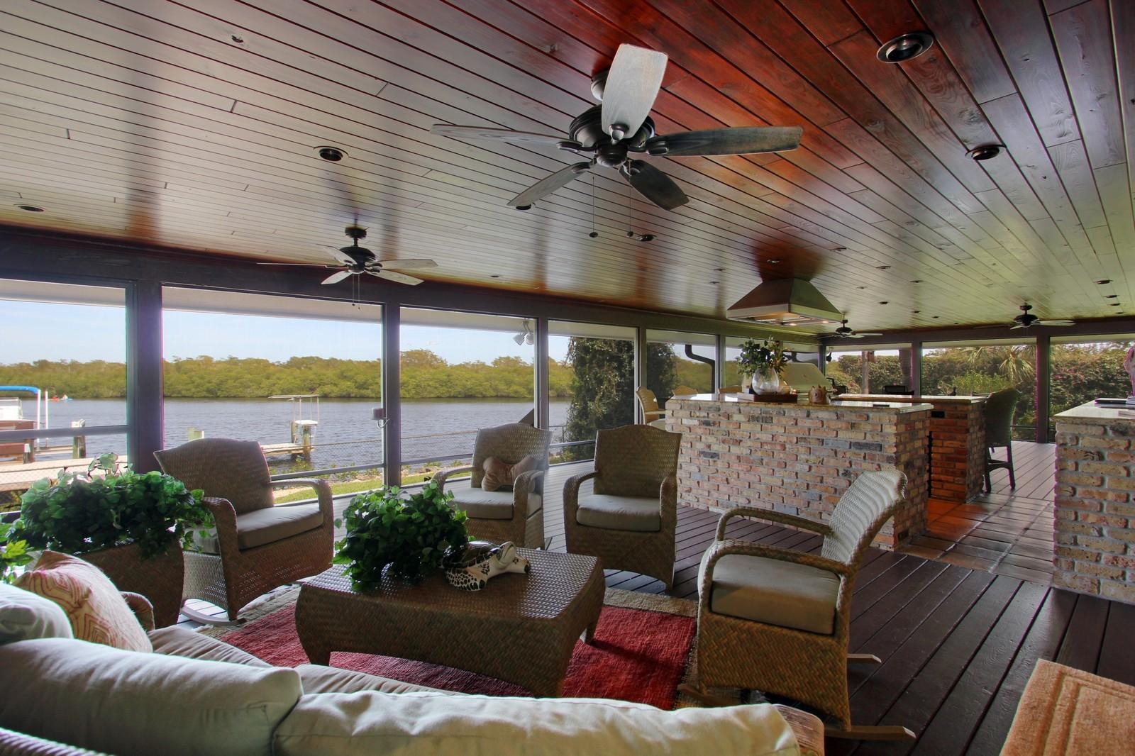 Real Estate Photography - 18300 SE Loxahatchee River Rd, Jupiter, FL, 33458 - Loggia
