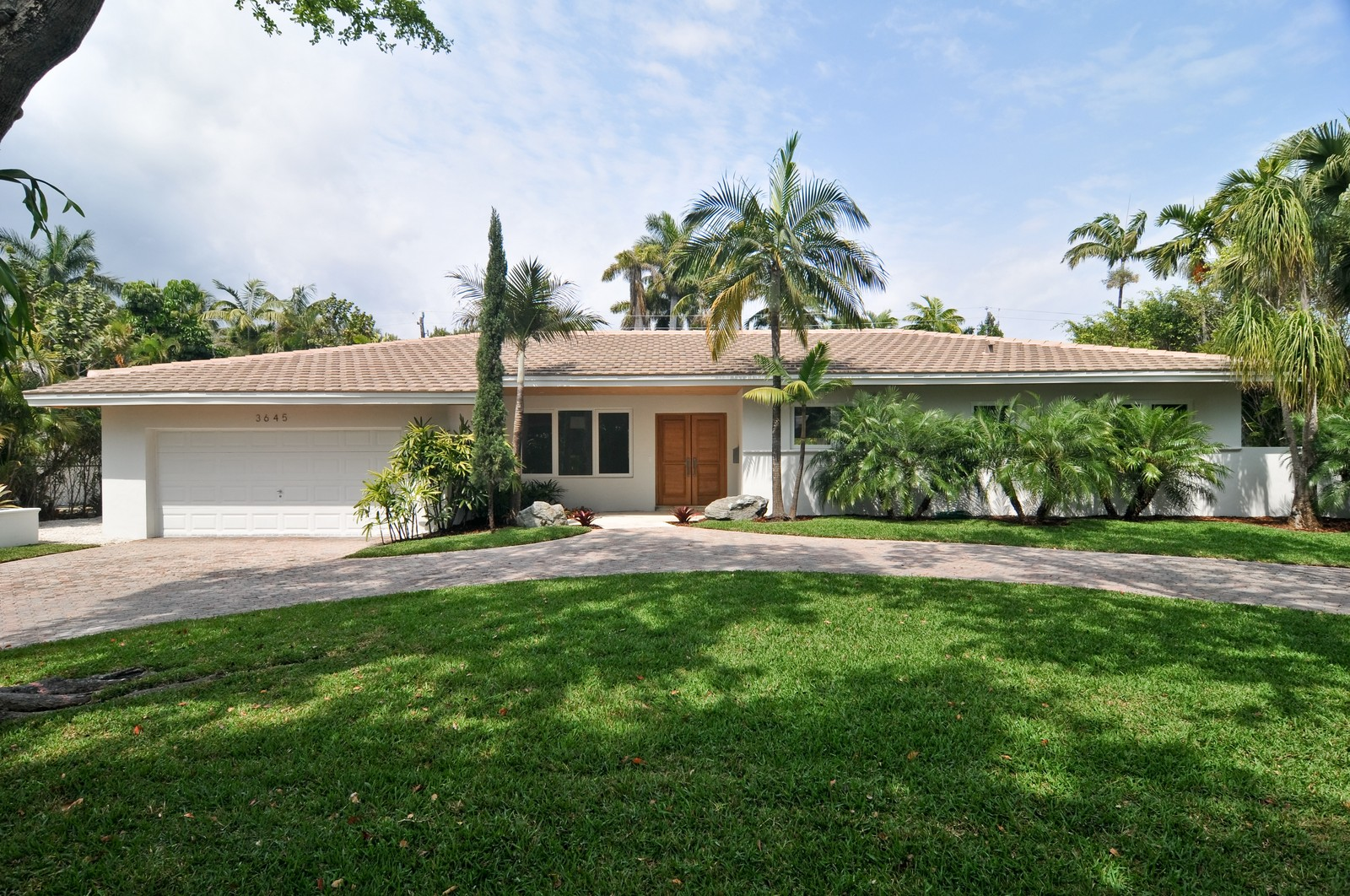 Real Estate Photography - 3645 Battersea, Miami, FL, 33133 - Front View