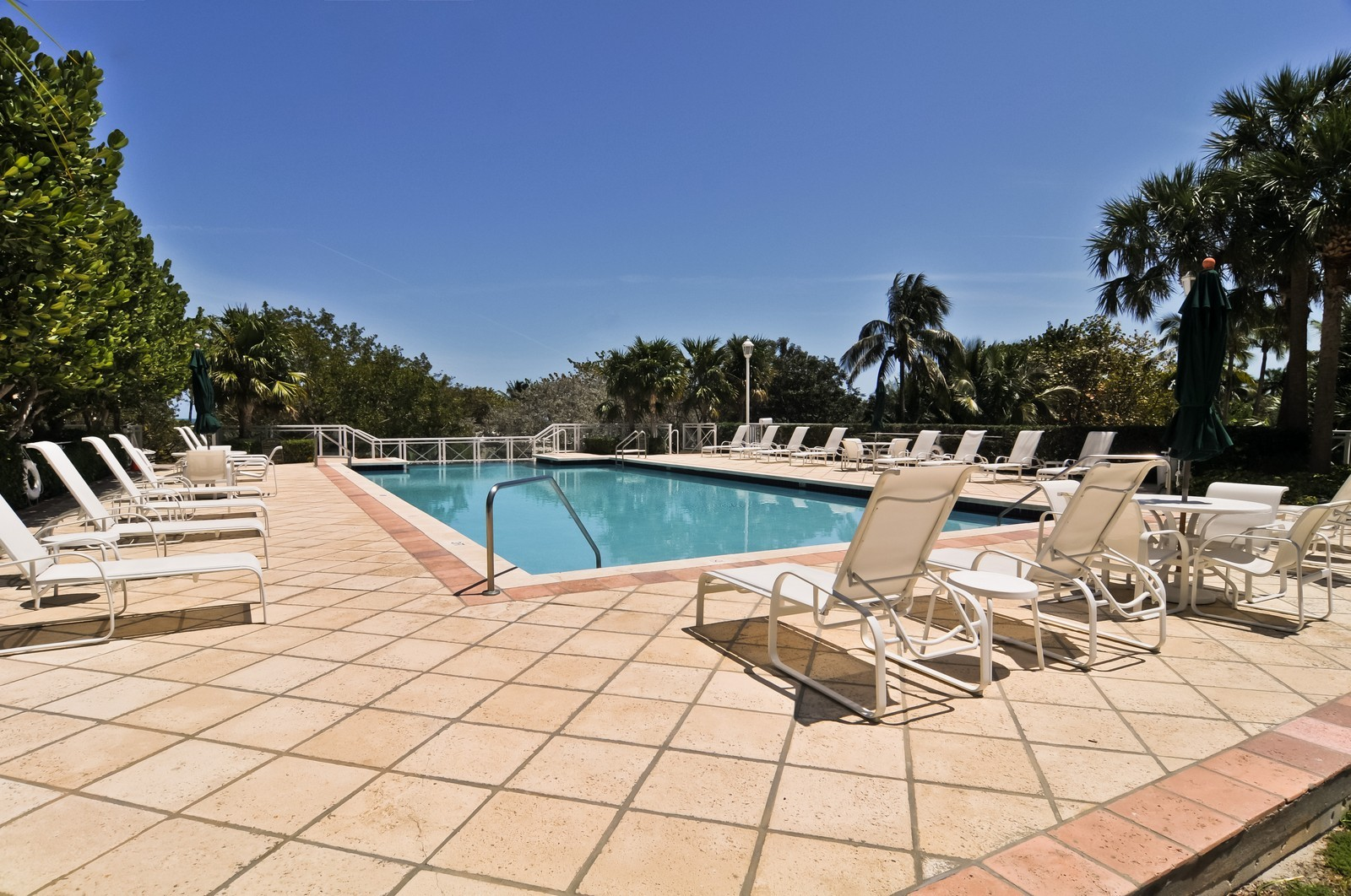 Real Estate Photography - 445 Grand Bay Dr, Unit 705, Key Biscayne, FL, 33149 - Pool