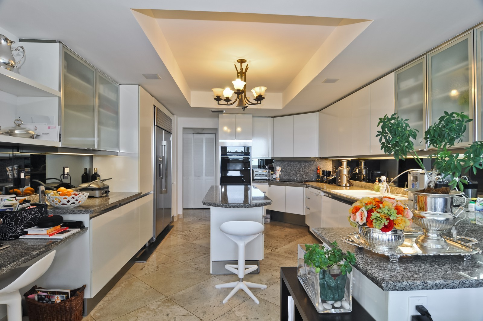 Real Estate Photography - 445 Grand Bay Dr, Unit 705, Key Biscayne, FL, 33149 - Kitchen