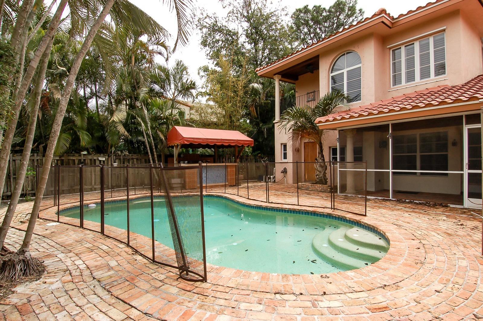 Real Estate Photography - 899 Azalea St, Boca Raton, FL, 33486 - Pool
