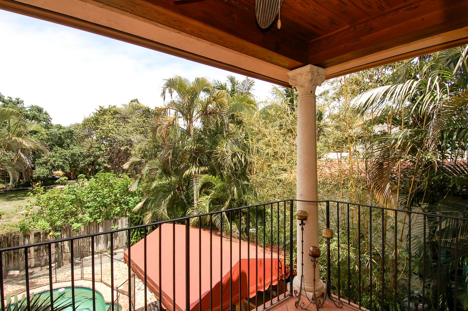 Real Estate Photography - 899 Azalea St, Boca Raton, FL, 33486 - Balcony