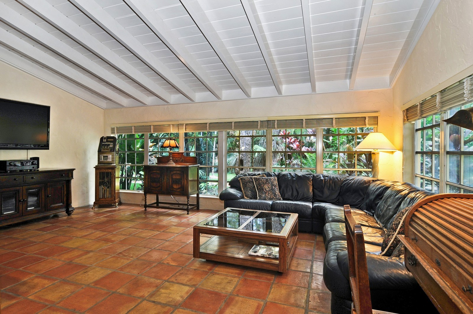Real Estate Photography - 716 Alhambra Circle, Coral Gables, FL, 33134 - Family Room