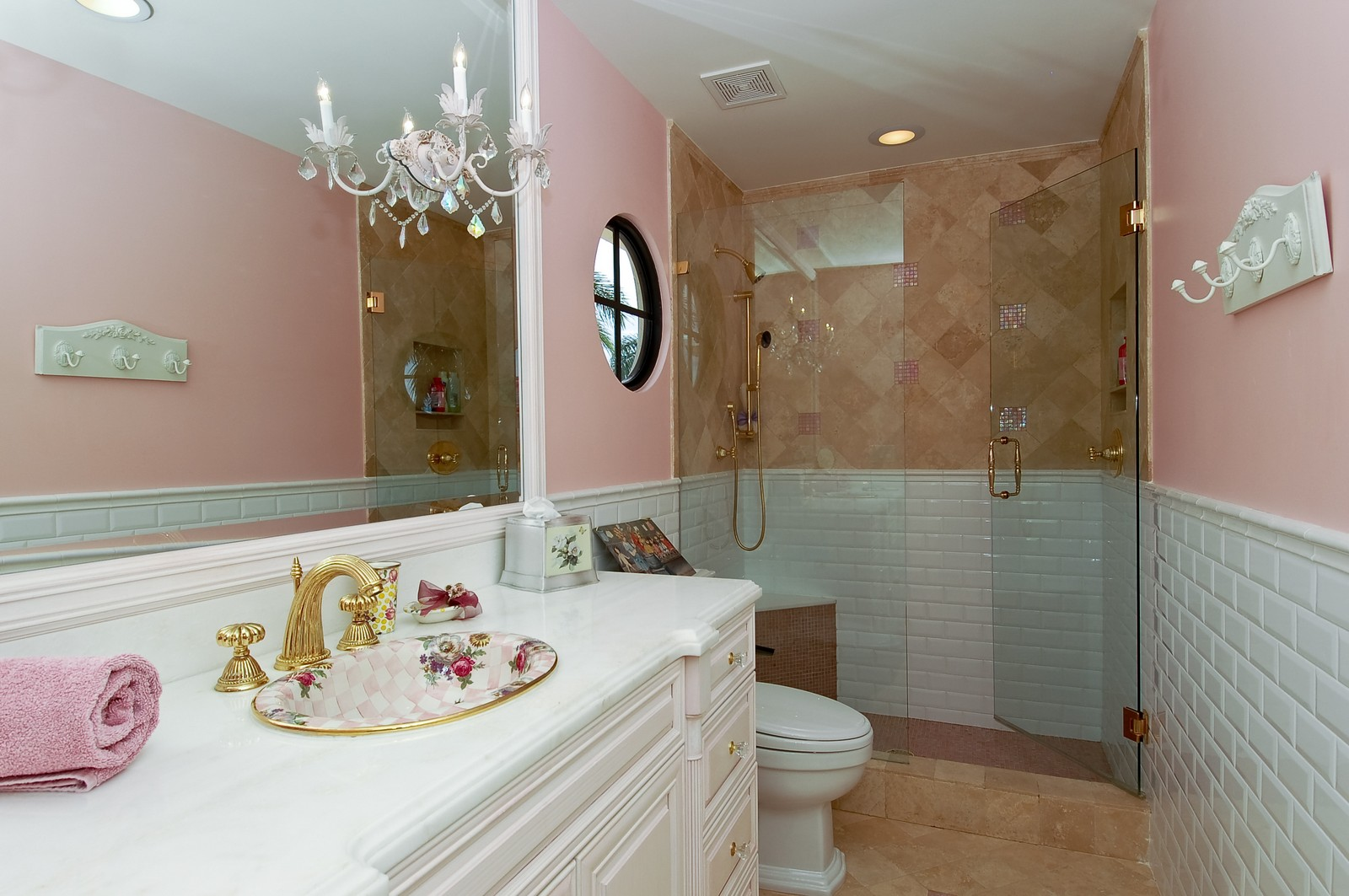 Real Estate Photography - 21307 Rock Ledge Ln, Boca Raton, FL, 33428 - 3rd Bathroom