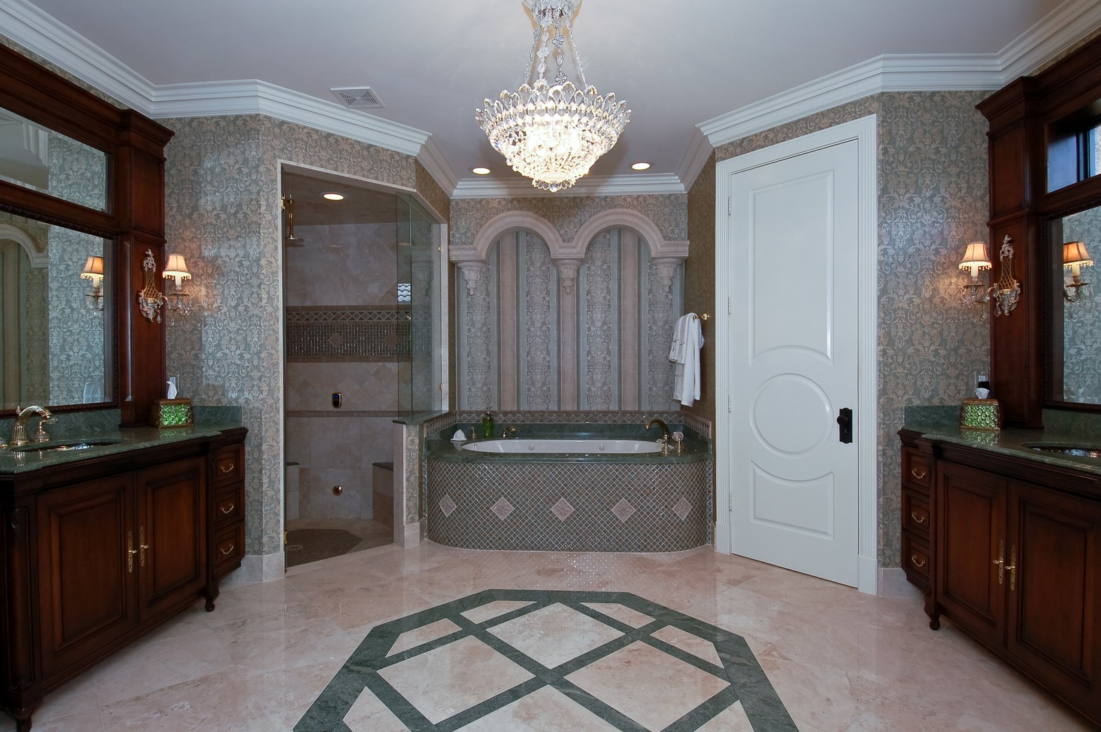 Real Estate Photography - 21307 Rock Ledge Ln, Boca Raton, FL, 33428 - Master Bathroom