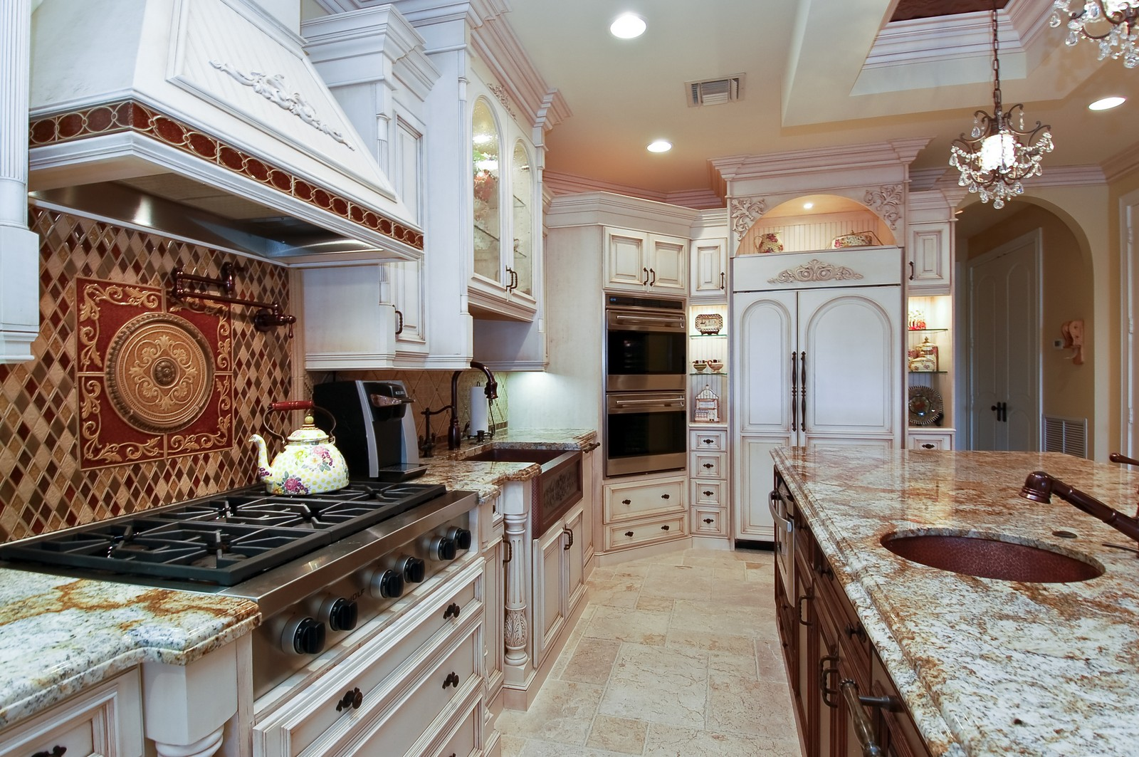 Real Estate Photography - 21307 Rock Ledge Ln, Boca Raton, FL, 33428 - Kitchen