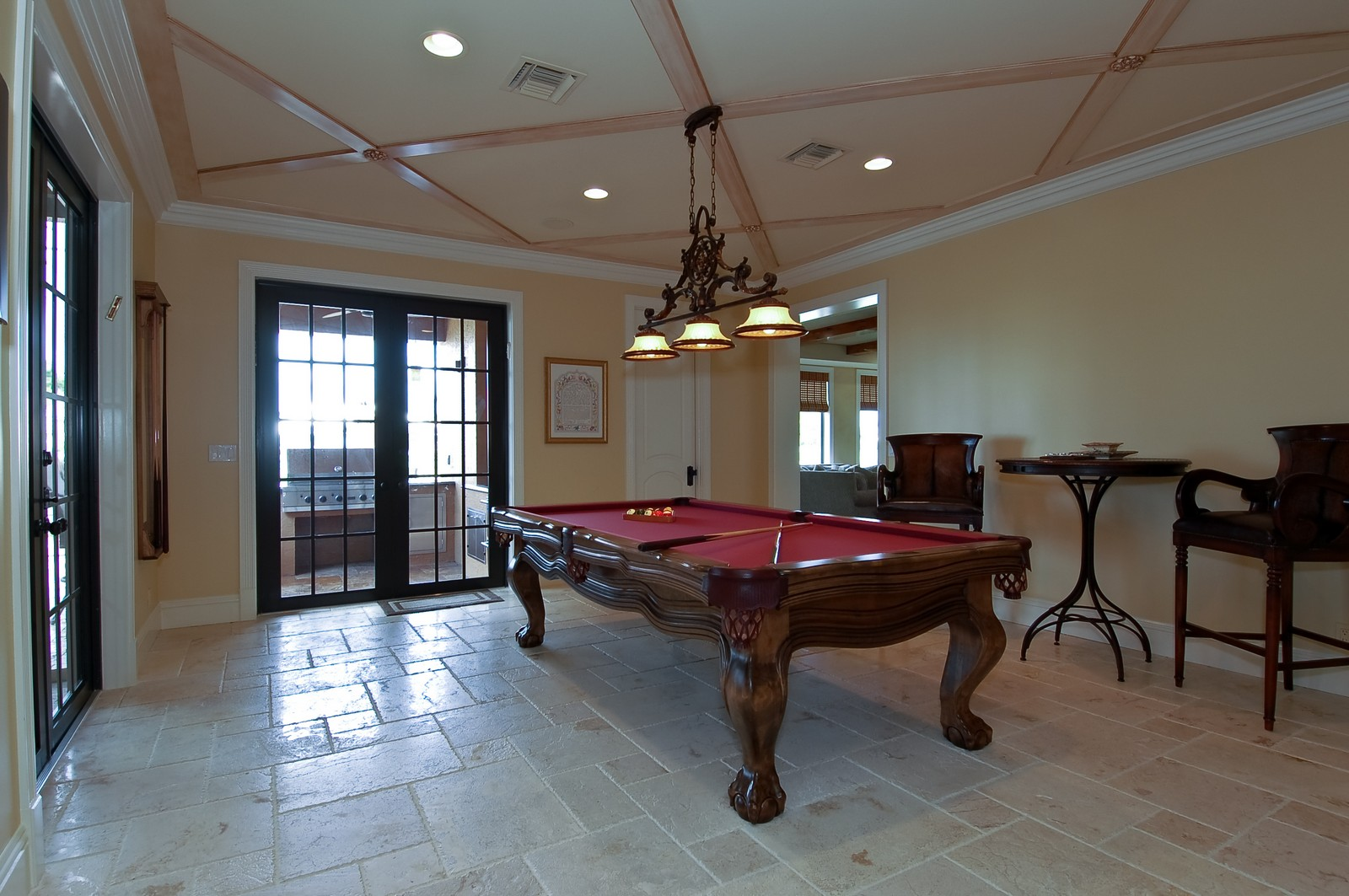Real Estate Photography - 21307 Rock Ledge Ln, Boca Raton, FL, 33428 - Gameroom