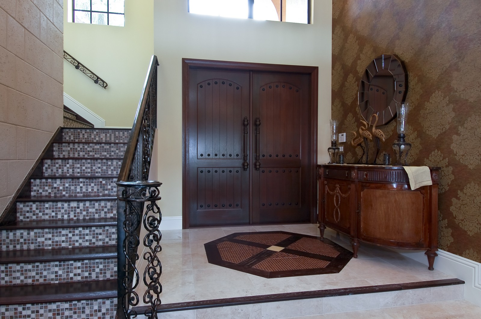 Real Estate Photography - 21307 Rock Ledge Ln, Boca Raton, FL, 33428 - Foyer