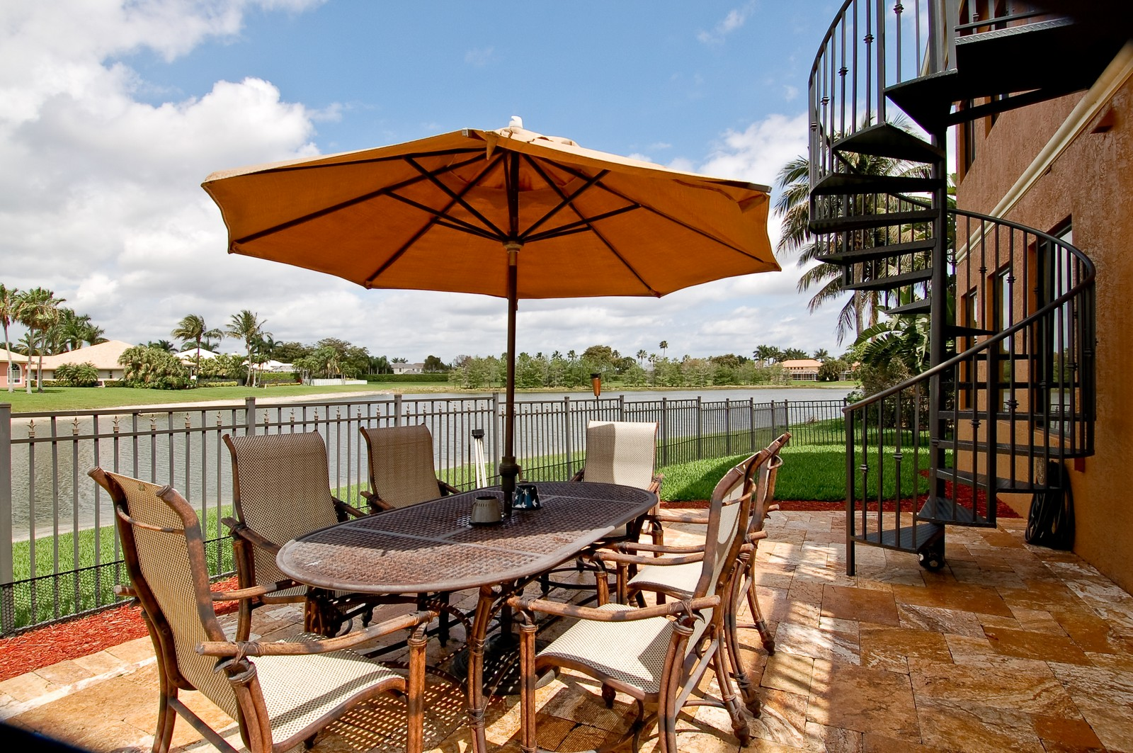 Real Estate Photography - 21307 Rock Ledge Ln, Boca Raton, FL, 33428 - Patio