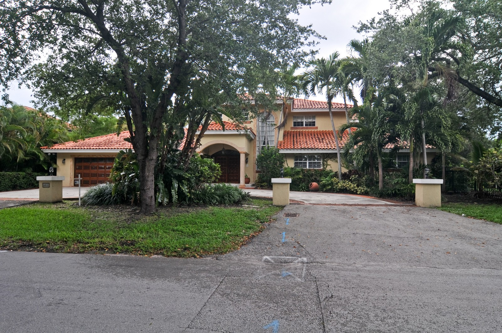 Real Estate Photography - 4011 Toledo, Coral Gables, FL, 33146 - Front View