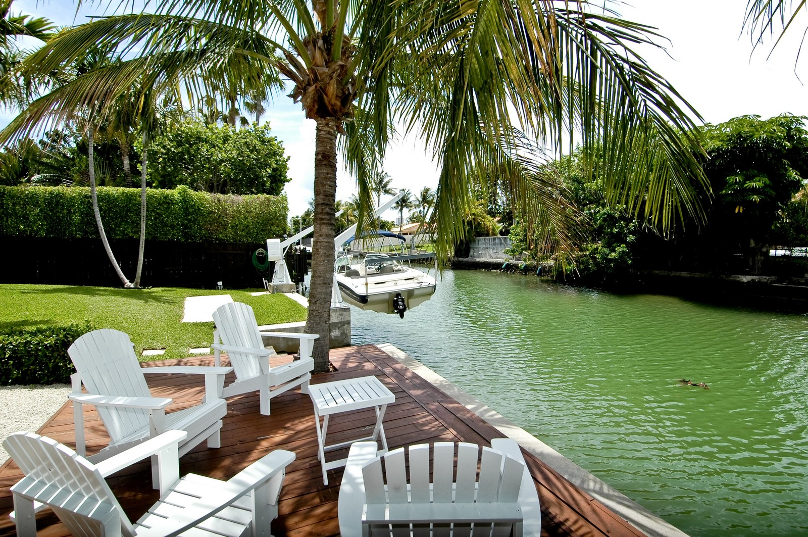 Real Estate Photography - 1500 Cleveland Rd, Miami Beach, FL, 33141 - Dock