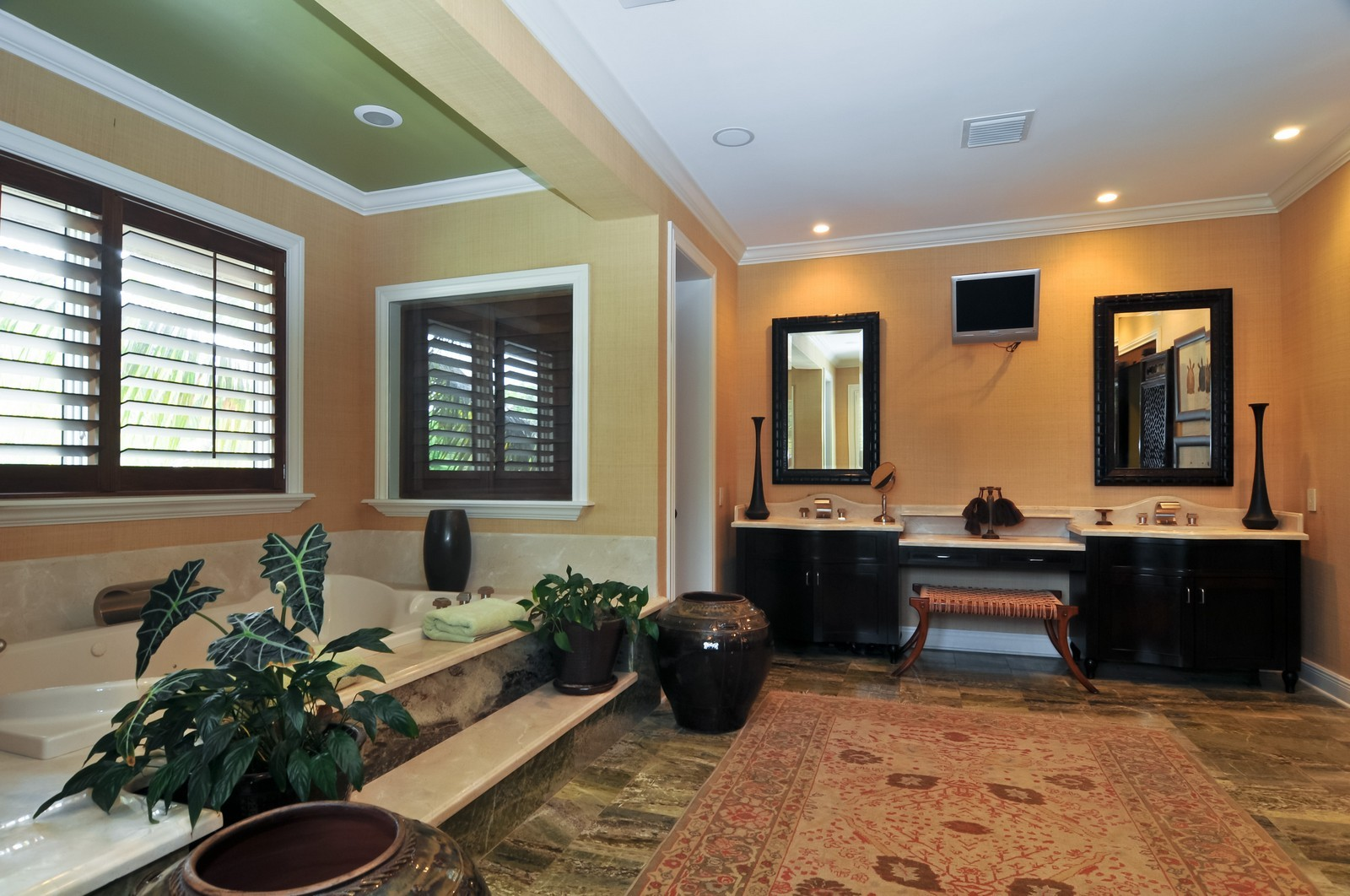 Real Estate Photography - 14200 Farmer Rd, Palmetto Bay, FL, 33158 - Master Bathroom