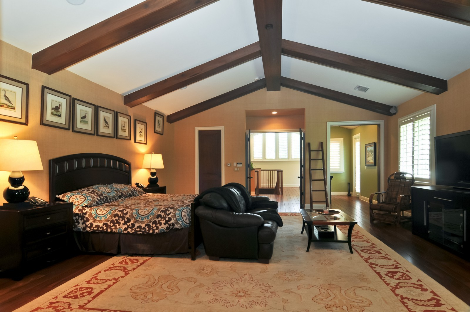 Real Estate Photography - 14200 Farmer Rd, Palmetto Bay, FL, 33158 - Master Bedroom