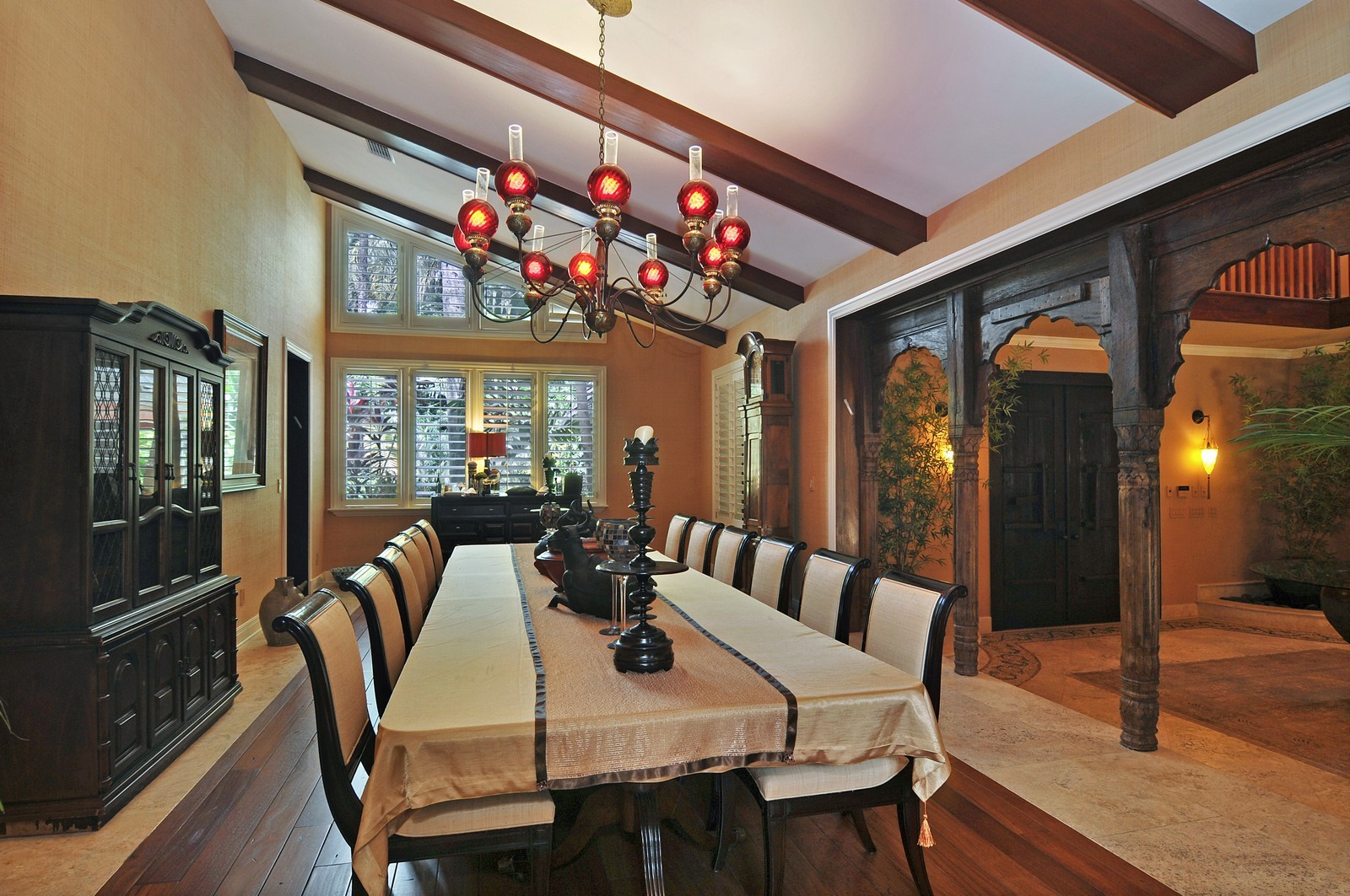 Real Estate Photography - 14200 Farmer Rd, Palmetto Bay, FL, 33158 - Formal Dining Room