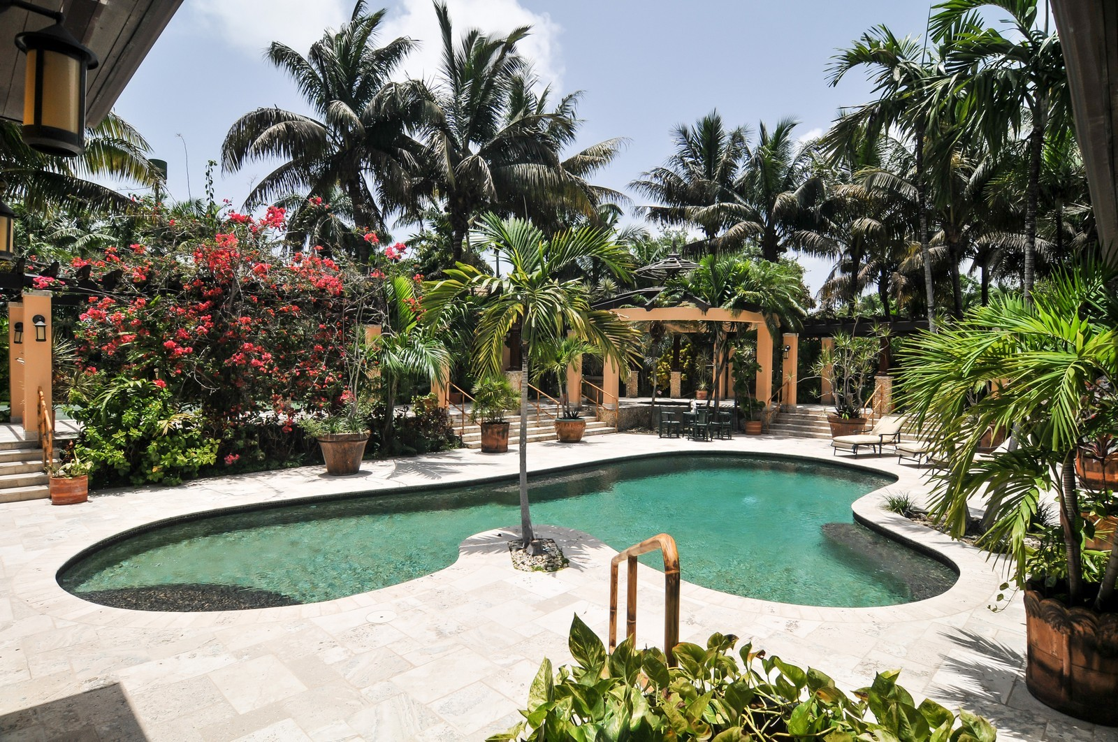 Real Estate Photography - 14200 Farmer Rd, Palmetto Bay, FL, 33158 - Heated Salt Water Pool