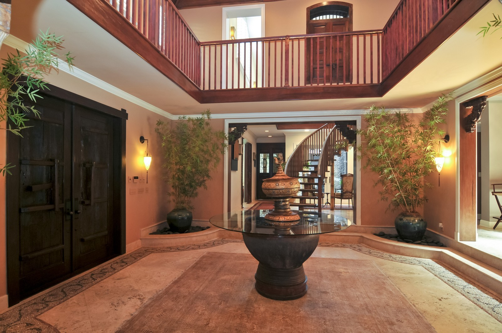 Real Estate Photography - 14200 Farmer Rd, Palmetto Bay, FL, 33158 - Foyer
