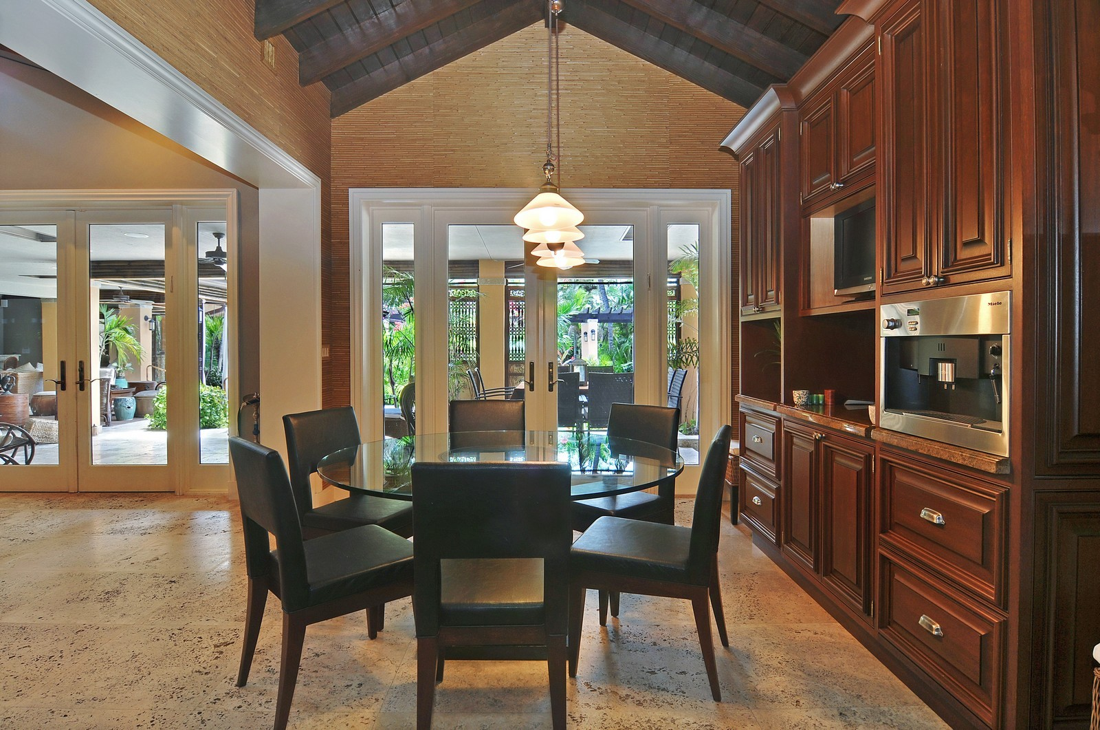 Real Estate Photography - 14200 Farmer Rd, Palmetto Bay, FL, 33158 - Breakfast Room