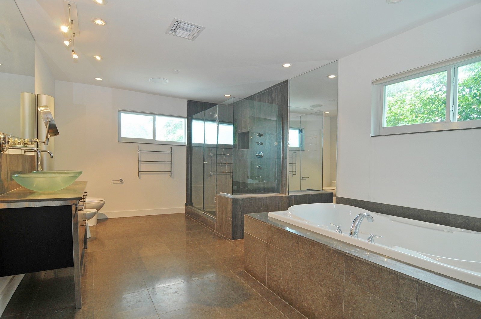 Real Estate Photography - 3711 Sheridan Ave, Miami Beach, FL, 33140 - Master Bathroom