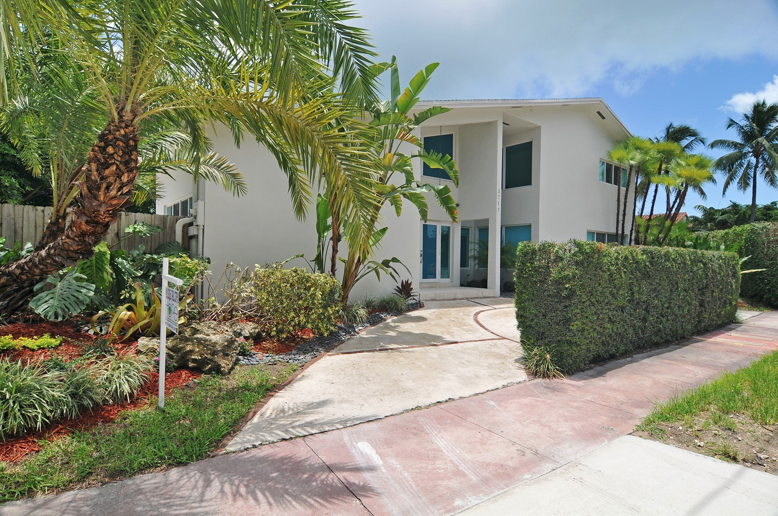Real Estate Photography - 3711 Sheridan Ave, Miami Beach, FL, 33140 - Front View