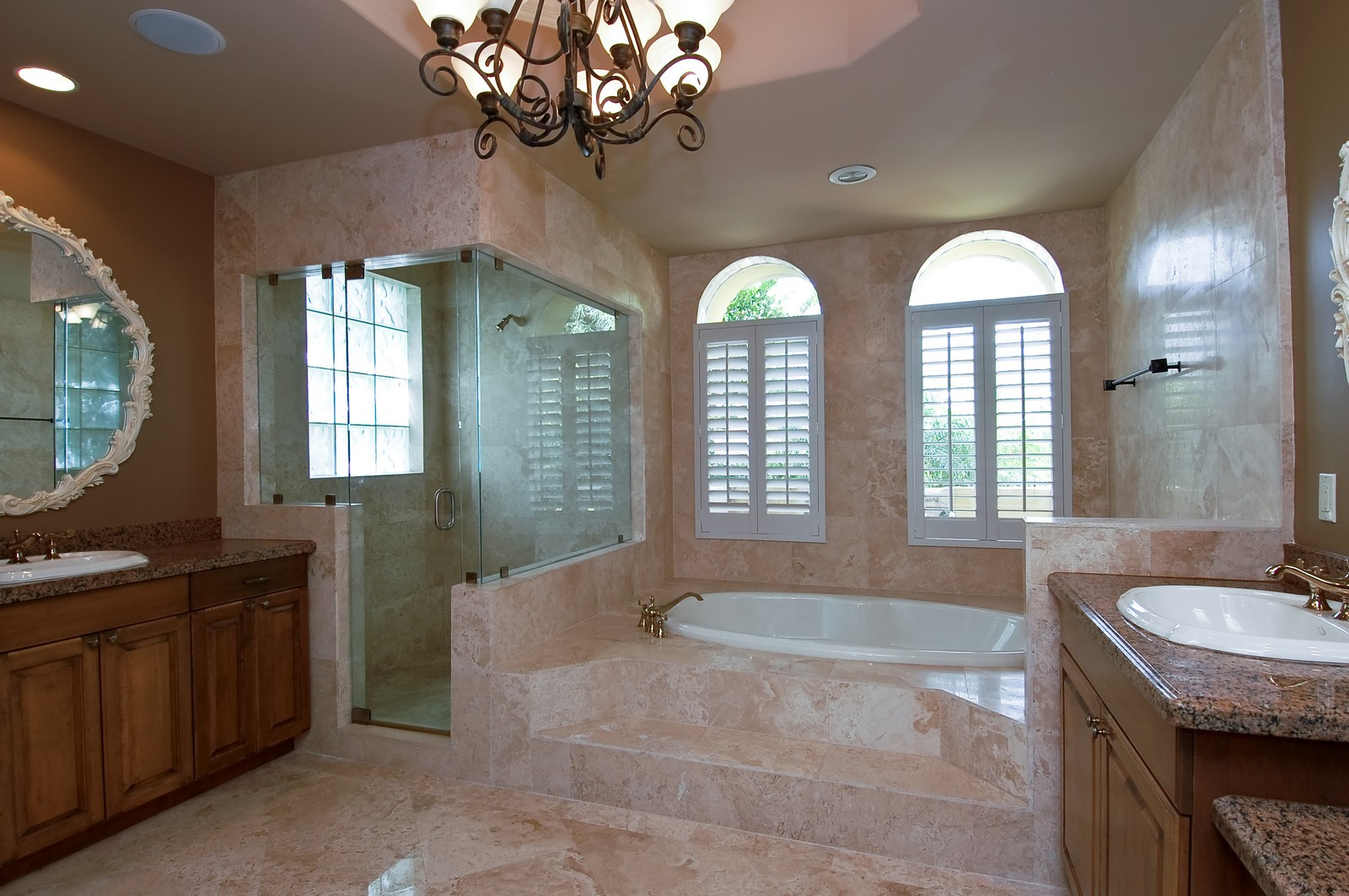 Real Estate Photography - 2325 NE 28th Ct, Lighthouse Point, FL, 33064 - Master Bathroom