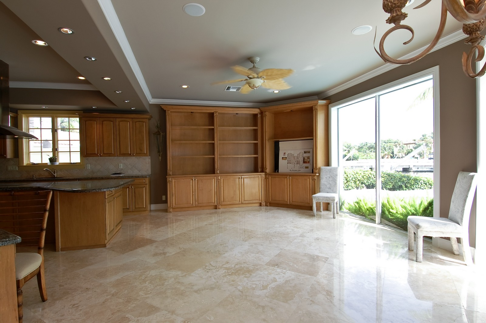Real Estate Photography - 2325 NE 28th Ct, Lighthouse Point, FL, 33064 - Great Room