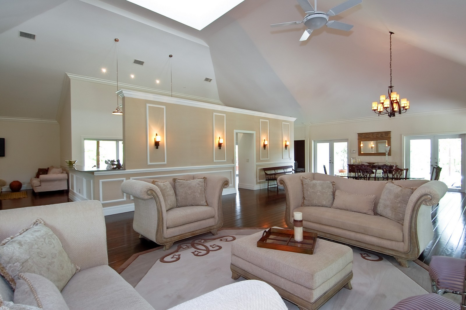 Real Estate Photography - 12800 SW 33RD DRIVE, DAVIE, FL, 33330 - Living Room