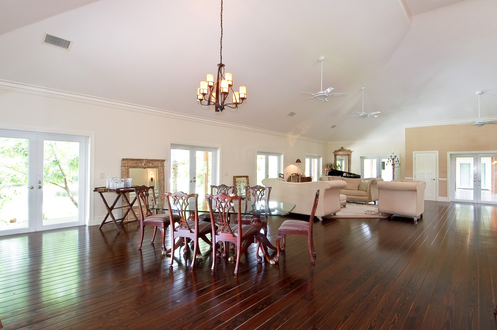 Real Estate Photography - 12800 SW 33RD DRIVE, DAVIE, FL, 33330 - Dining Room