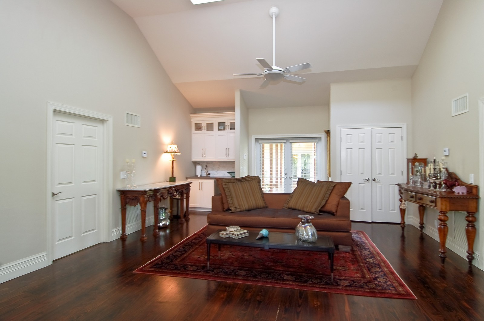 Real Estate Photography - 12800 SW 33RD DRIVE, DAVIE, FL, 33330 - Guest House Living Room
