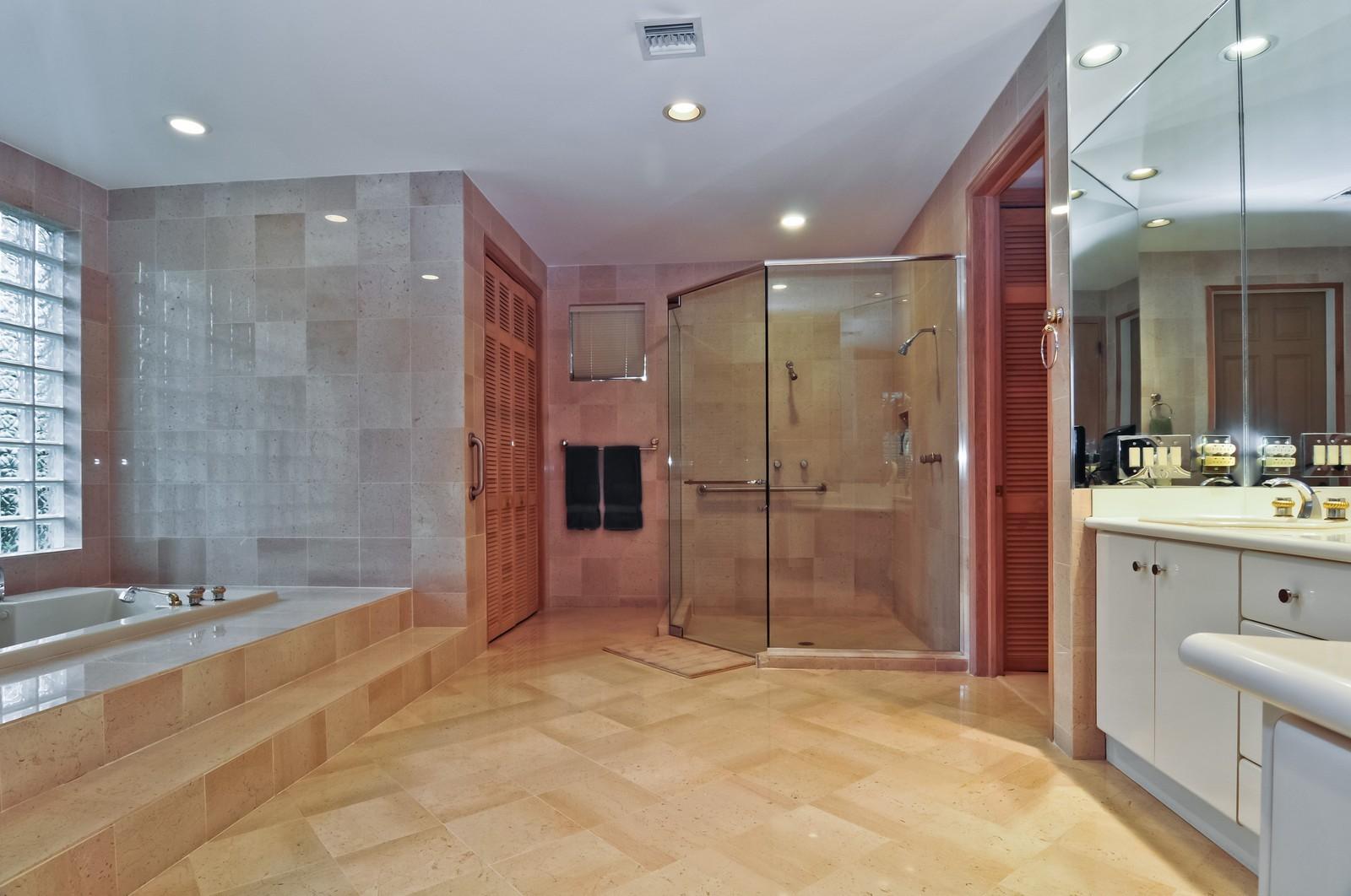 Real Estate Photography - 10701 SW 88th Ct, Miami, FL, 33176 - Master Bathroom