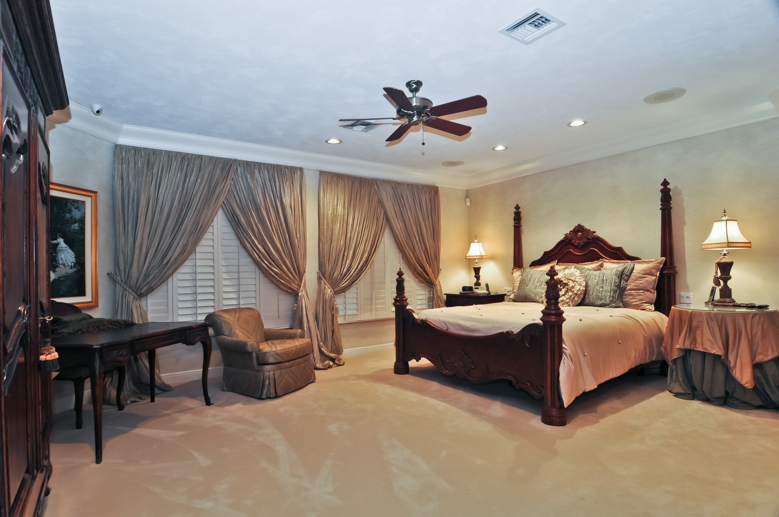 Real Estate Photography - 10701 SW 88th Ct, Miami, FL, 33176 - Master Bedroom