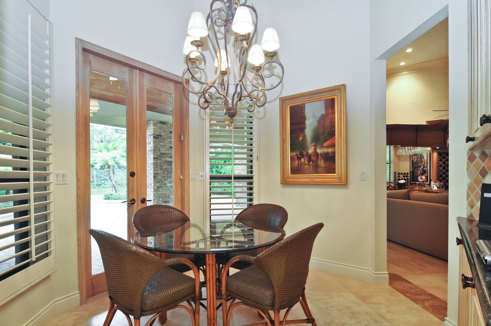 Real Estate Photography - 10701 SW 88th Ct, Miami, FL, 33176 - Breakfast Room