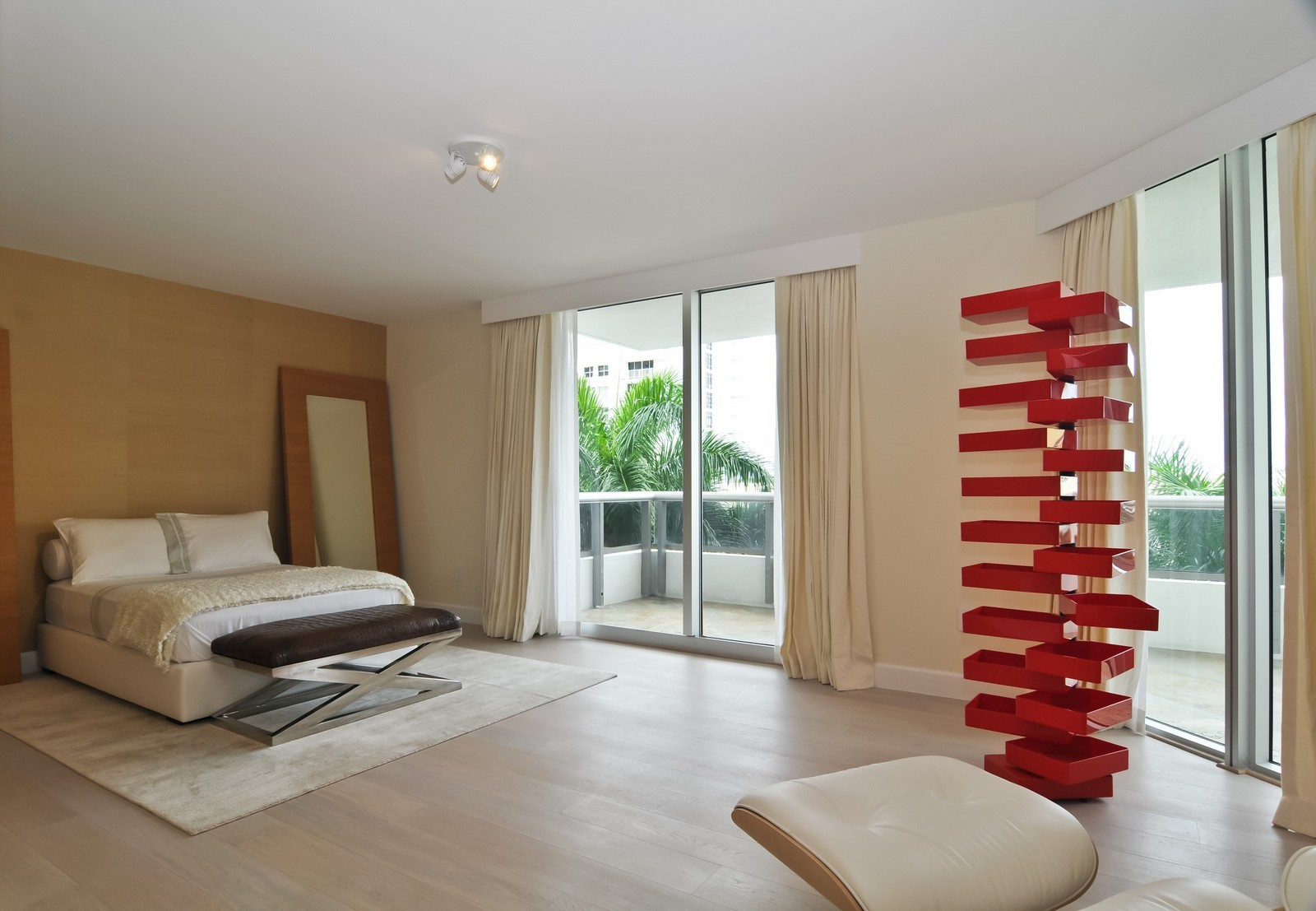 Real Estate Photography - 5801 Collins Ave, Unit 500, Miami Beach, FL, 33140 - 2nd Bedroom