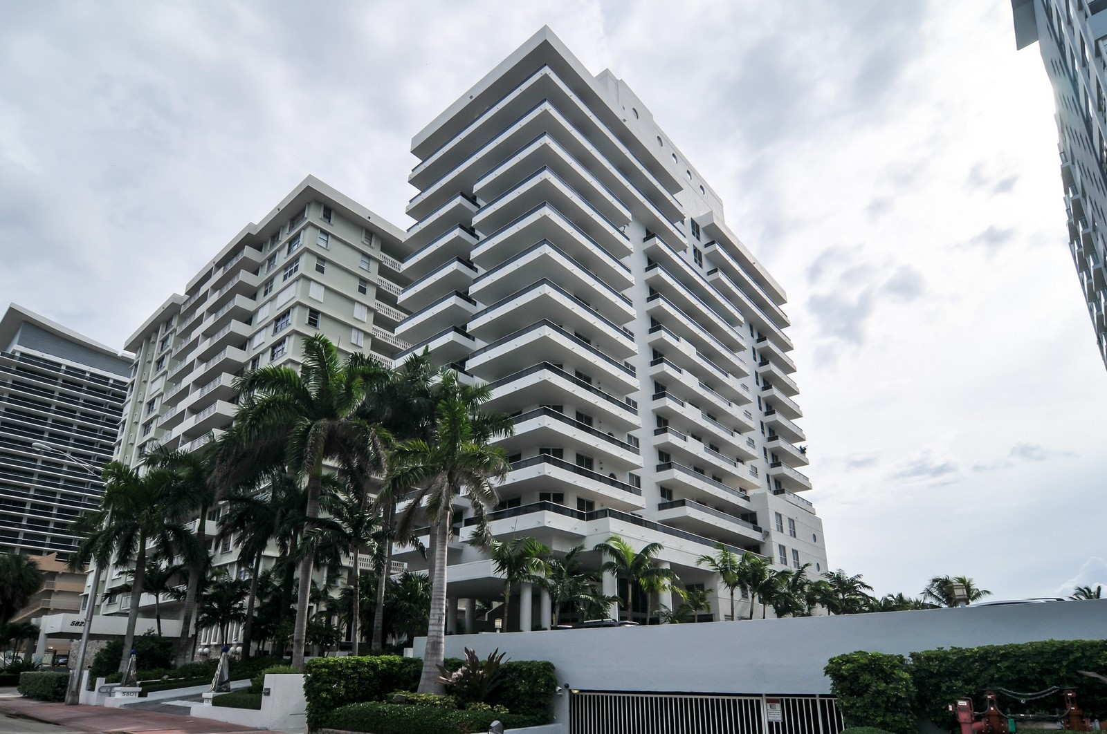 Real Estate Photography - 5801 Collins Ave, Unit 500, Miami Beach, FL, 33140 - Front View