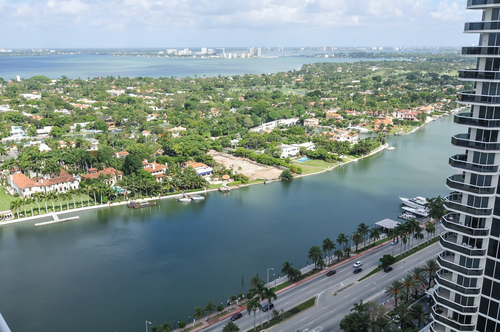 Real Estate Photography - 4775 Collins Avenue, 3401, Miami Beach, FL, 33140 - Canal View