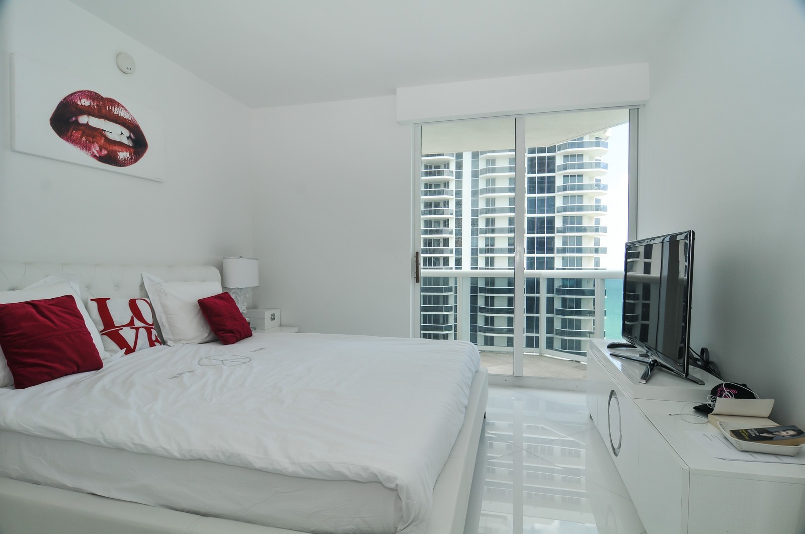 Real Estate Photography - 4775 Collins Avenue, 3401, Miami Beach, FL, 33140 - 3rd Bedroom