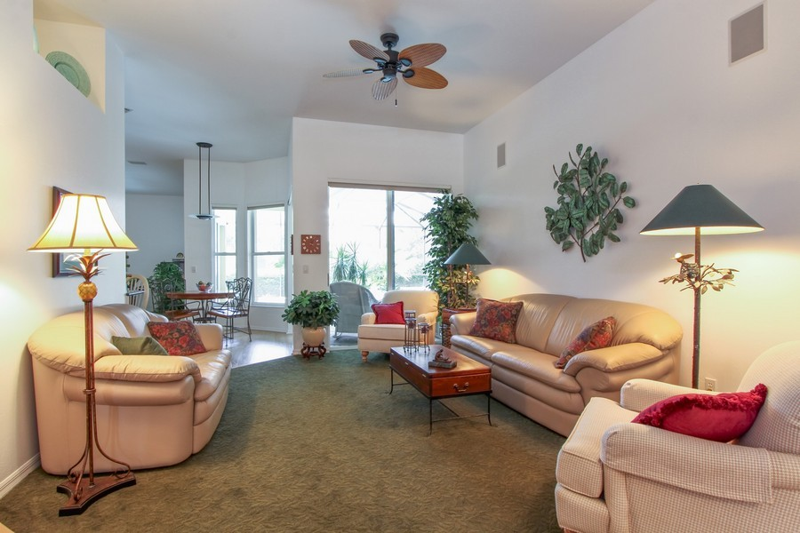 Real Estate Photography - 12010 Wedge Drive, Fort Myers, FL, 33913 - Living Room