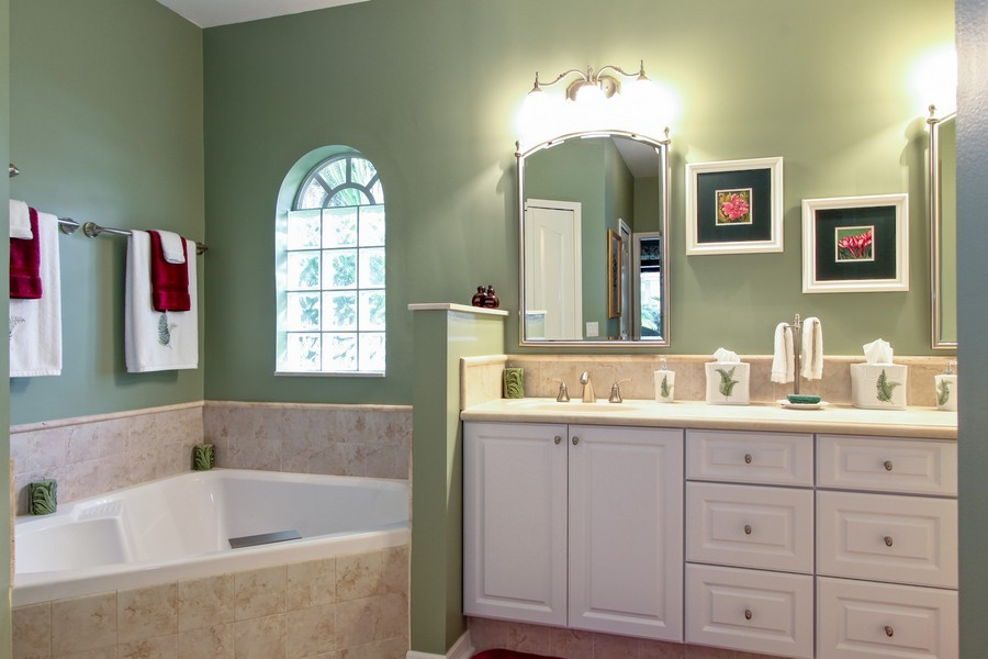 Real Estate Photography - 12010 Wedge Drive, Fort Myers, FL, 33913 - Master Bathroom