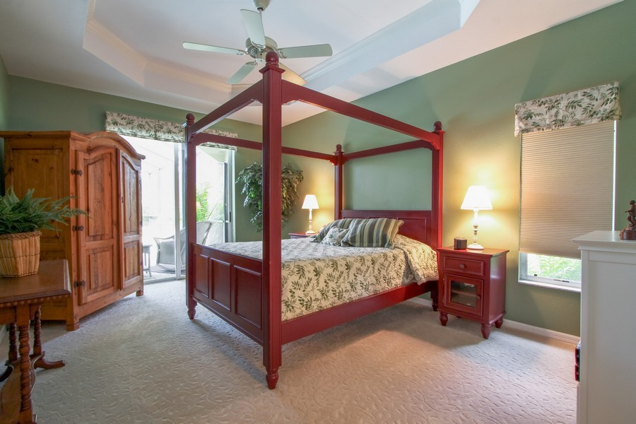 Real Estate Photography - 12010 Wedge Drive, Fort Myers, FL, 33913 - Master Bedroom