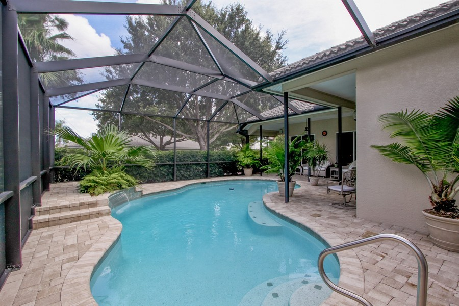 Real Estate Photography - 12010 Wedge Drive, Fort Myers, FL, 33913 - Pool